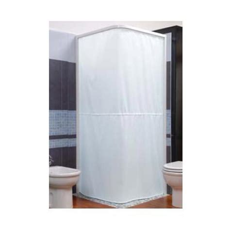 l shaped shower curtain croydex textile shower curtain for use with l shaped rail