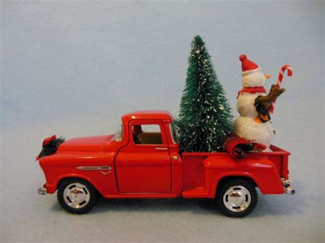 red christmas vintage pick ups for sale truck chevy up truck with by maggiesklosets memories