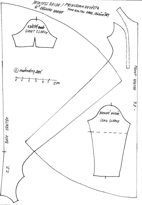 clothes pattern templates 45 best free barbie sewing patterns images on pinterest