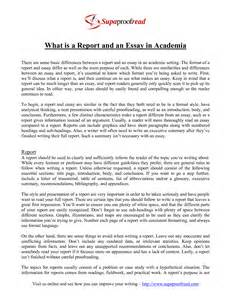 Report Format Essay by Analytical Report Format Exle