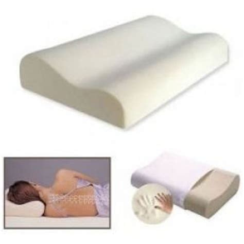 Firm Memory Foam Pillow by Contour Memory Foam Pillow Orthopaedic Firm Neck Back