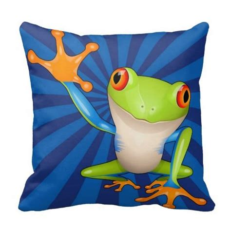 Frog Pillow by Tree Frog Pillow Trees Tree Frogs And Frogs