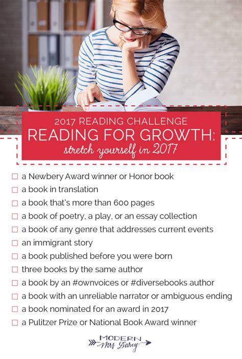 modern challenges the 2017 reading challenge modern mrs darcy