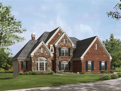 brick home plans suggestions for brick and stone exterior