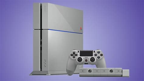 Ps4 20th Anniversary limited edition ps4 launched to celebrate 20 year anniversary
