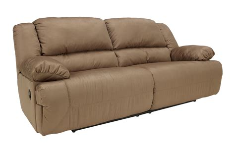 ashley furniture hogan mocha two seat reclining sofa the