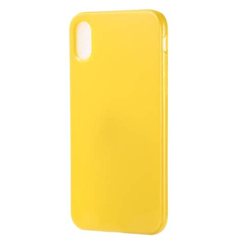 color tpu for iphone xs max yellow alexnld