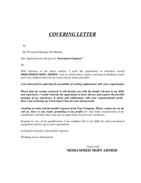 cover letter for power engineer 4492