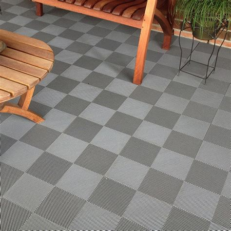 Plastic Patio Flooring by Outdoor Tiles The Tile Home Guide