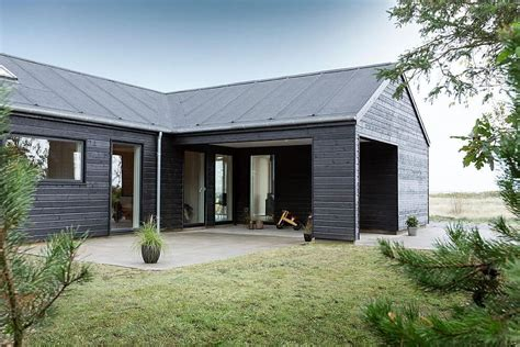 Farm House Floor Plans by Exquisite Summer House With Danish Design By Skanlux