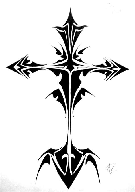cross tattoo flash 17 best ideas about tribal cross tattoos on