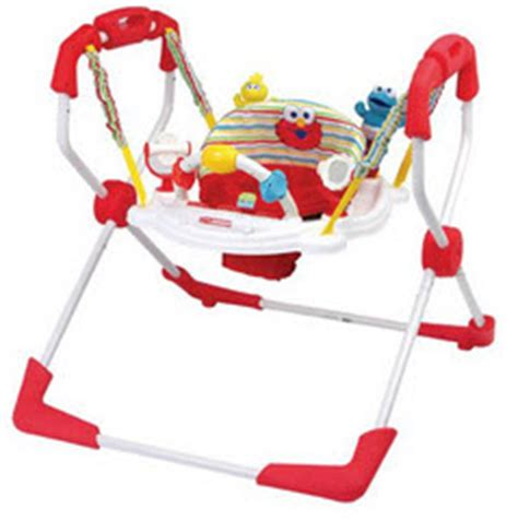 elmo baby swing sesame beginnings elmo bounce around reviews