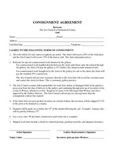 consignment agreement template consignment agreement template free printable documents