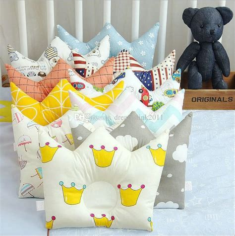 Baby Pillow Crown baby pillow dimple pillow crown shape 0 2 years new born