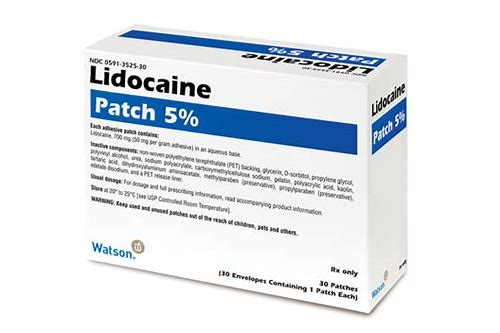 lidoderm patch coupon endo