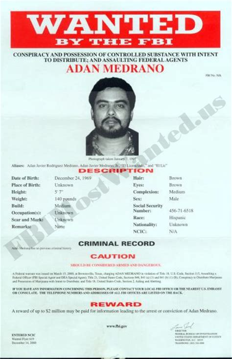 fbi wanted posters fbimostwanted us wanted posters