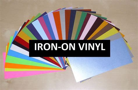 where can i buy printable iron on paper iron on heat transfer vinyl large 12 quot x15 quot sheet for all