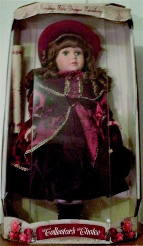 porcelain doll collectors collectors choice genuine bisque porcelain limited