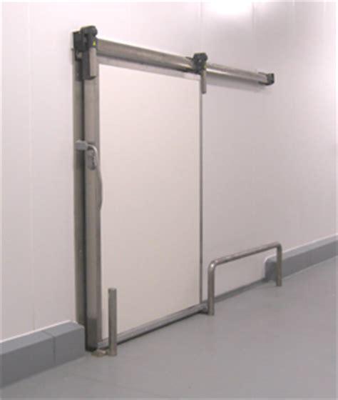 porte coulissante chambre froide porte coulissante isotherme pour chambre froide positive ou n 233 gative
