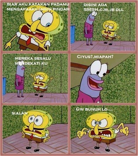 meme komik indonesia on twitter quot spongebob anti alay http