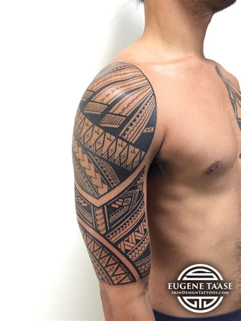 polynesian tattoo artist eugene ta ase polynesian artist at skin design tatoo