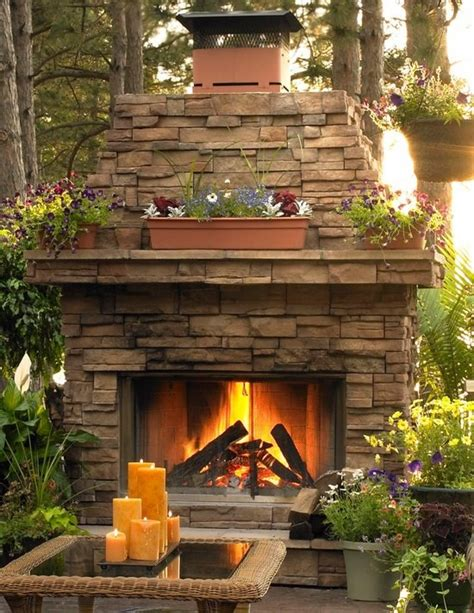 Fireplace Outside by Beautiful Outdoor Fireplace Outdoor Spaces