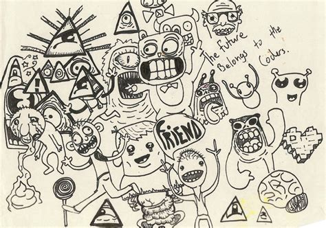 doodle drawings ideas cool doodle drawings car interior design