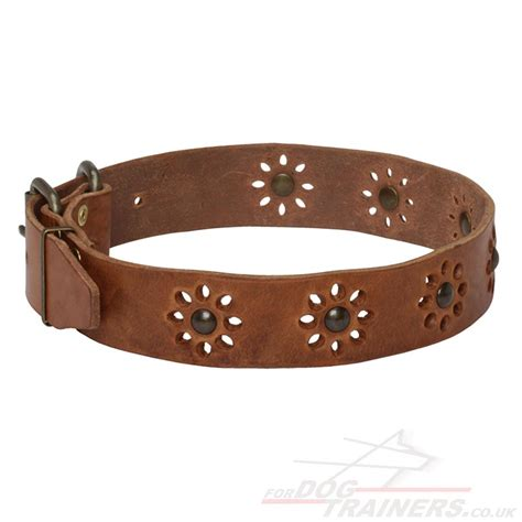 Handcrafted Collars - pretty collars flowery style collars 163 35 05