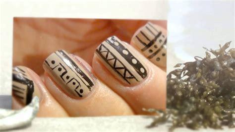 imagenes de uñas trivales decoraciones de u 241 as de tribales fotos youtube