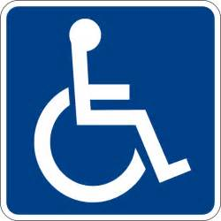 Portable Stadium Chairs Handicapped Accessible Sign Clip Art At Clker Com Vector