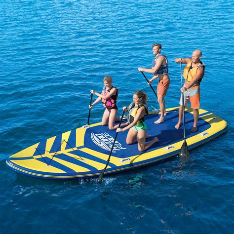 boat accessories hawaii bestway hydro force 17 inflatable stand up paddle board