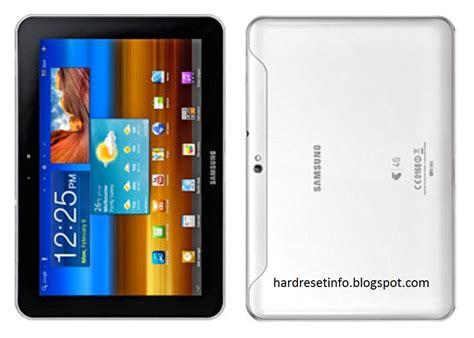 reset in samsung tablet hard reset samsung galaxy tab 8 9 4g p7320t hardresetinfo