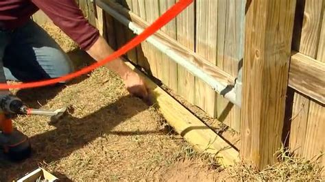 keep from digging fence how to keep dogs from digging a fence gate today s homeowner