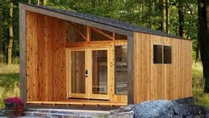 Small Rustic Cabins Sleek Slanted Roof Cabin Wants To Woo New Generation Of