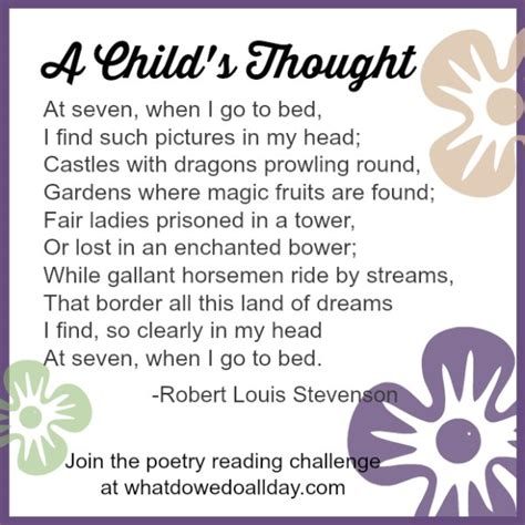 child poem poetry challenge for