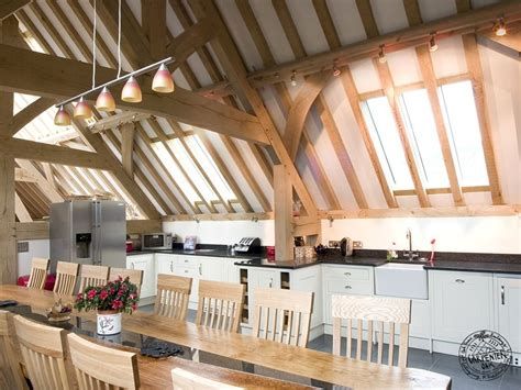 Wood Floor Ideas For Kitchens bickleigh farm oak framed buildings