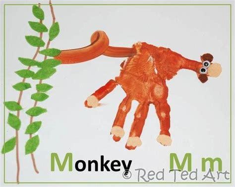 new year monkey handprint monkey craft ideas kindercare
