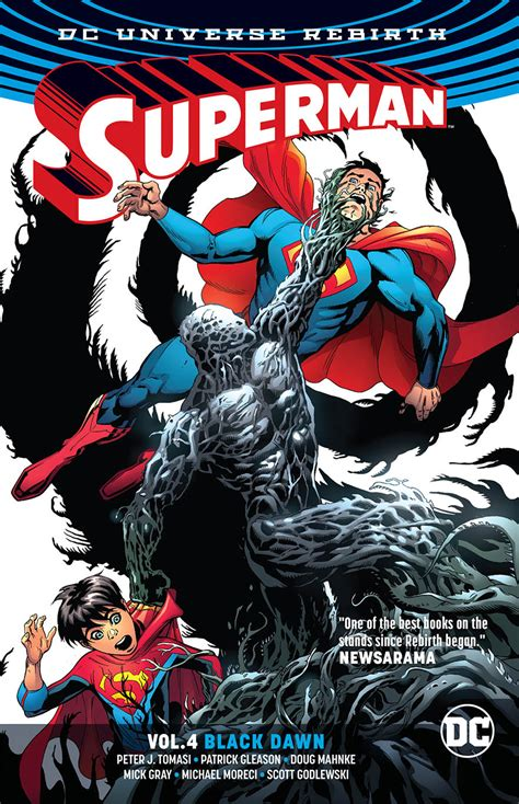 supermantp vol 1 1401267769 aug170325 superman tp vol 04 black dawn previews world