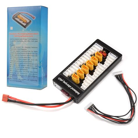 Parallel Charging Board Balance Charge Paralel Plate Xt Diskon xt60 2 6s lipo battery parallel balanced charge plate