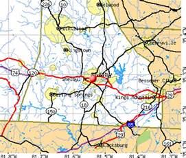 map of shelby carolina shelby carolina nc 28150 profile population
