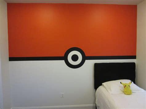 pokemon bedroom decorating ideas pokemon pokeball wall boys bedroom this is how i painted
