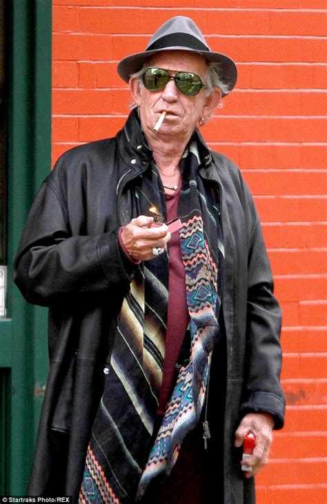 rolling stones keith richards 71 goes to lunch with