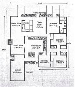 Atrium Floor Plans by Mid Century Modern And 1970s Era Ottawa California Modern