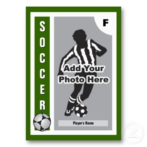 player card template best 25 soccer cards ideas on handmade bday