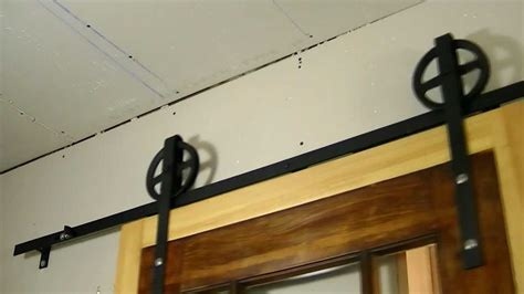 Diy Barn Door Track System Custom Interior Flat Track Sliding Barn Door Diy