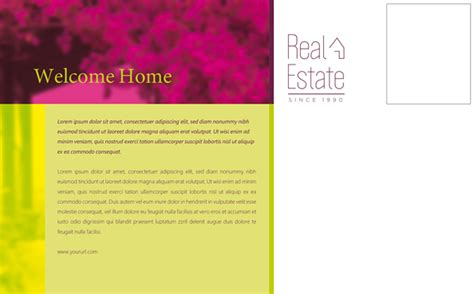 real estate postcard templates free real estate postcard template uicloud