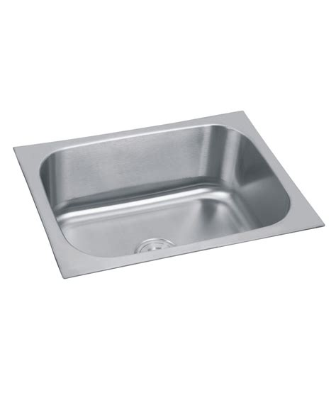 Non Stainless Steel Kitchen Sinks Silver Line Stainless Steel Kitchen Sink Pf1007 Buy Rs Productdealmodel Offergroup