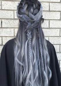 hair colors for 60 gray blue 85 silver hair color ideas and tips for dyeing