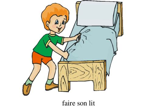 Faire Le Lit by Faire Lit Clipart