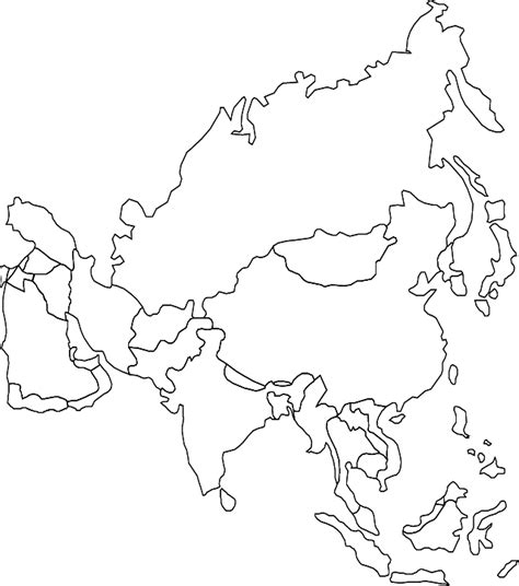 coloring page map of asia abcteach printable worksheet japan theme unit japan and